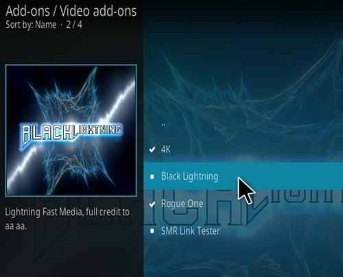 How To Install Black Lightning Kodi 19 Matrix Addon Step 17