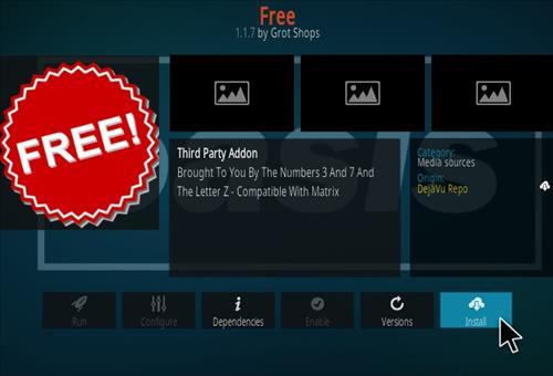 How To Install FREE Kodi Addon Kodi 19 Step 18