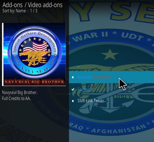 How To Install NavySeal Big Brother Kodi Addon Step 17