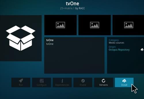 How To Install TV One 2021 Kodi Addon Step 18