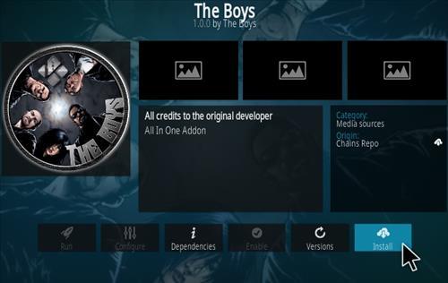 How To Install The Boys Kodi Addon Step 18