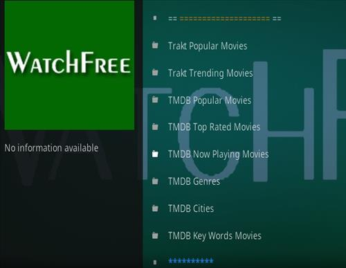 How To Install Watch Free Kodi 18 Kodi Add-on Overview 2