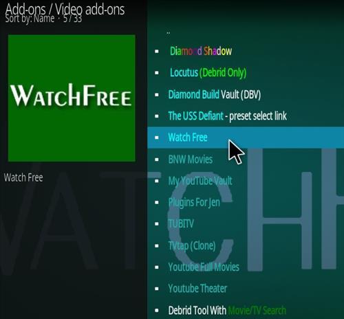 How To Install Watch Free Kodi 18 Kodi Add-on Step 17