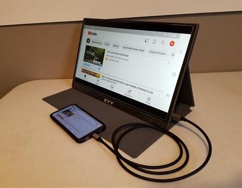 Review KYY K3 15.6 1080P USB-C Portable Monitor