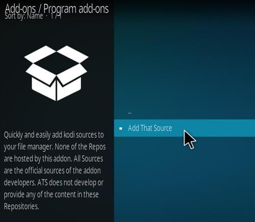 How To Install Add That Source Kodi Addon Step 18