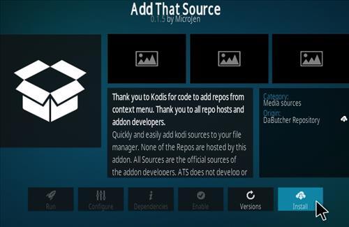 How To Install Add That Source Kodi Addon Step 19