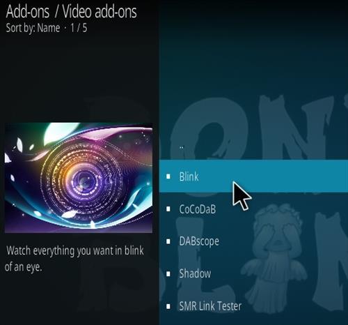 How To Install Blink Kodi Addon Step 17