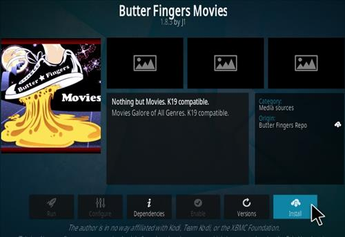 How To Install Butter Fingers Movies Kodi 19 Addon Step 18