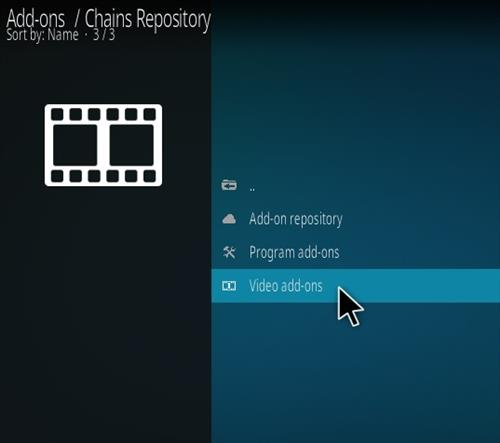 How To Install Chains Kodi Addon Ver6 Step 16