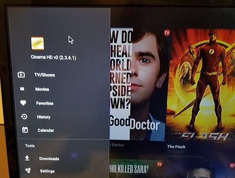 How To Install Cinema HD App (APK) for Android Devices and Fire TV Stick Menu 1