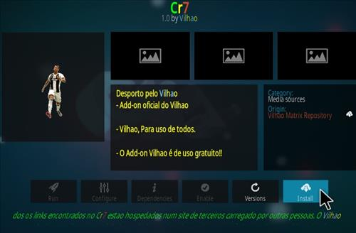How To Install Cr7 Kodi Addon Step 18