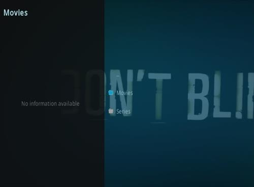 How To Install Dont Blink Kodi Addon Overview