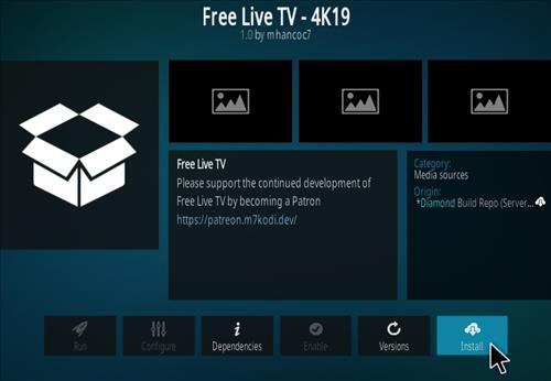 How To Install Free LiveTV 4K19 Step 18