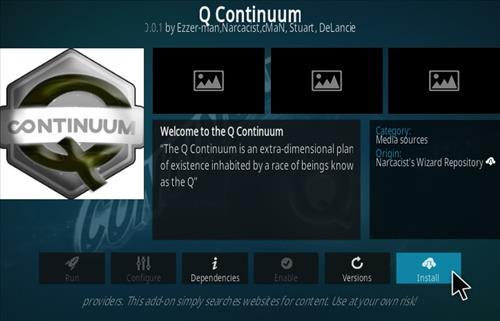 How To Install Q Continuum Kodi Addon Step 18