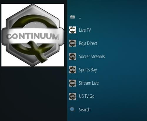 How To Install Q Sports Continuum Kodi Addon Overviw 2