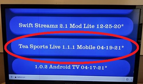 How To Install Tea Sports Live App (APK) to an Android Devices Fire TV Stick Step 3
