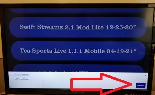 How To Install Tea Sports Live App (APK) to an Android Devices Fire TV Stick Step 4