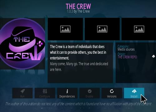 How To Install The Crew Kodi Addon 2021 Step 19