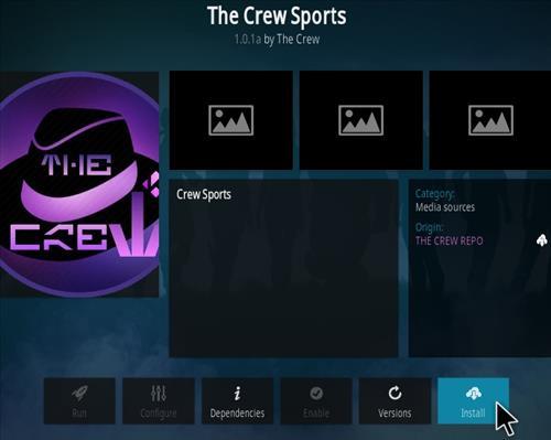 How To Install The Crew Sports Kodi Addon Step 18