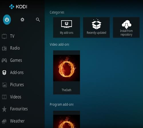 Step by Step Guide To Kodi and Streaming Movies or TV Shows the Oath 3