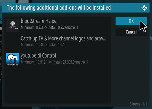 How To Install Catch-Up TV Kodi Addon Step 19