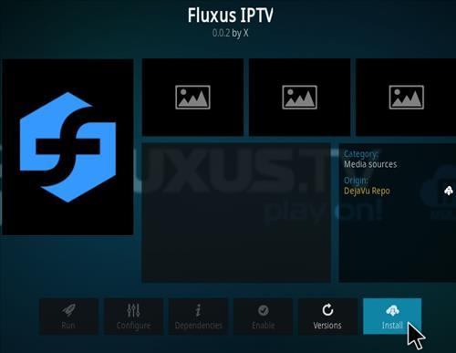 How To Install Flexus IPTV Kodi Addon Step 19