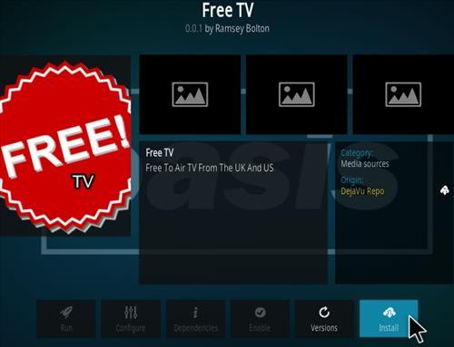 How To Install Free TV Kodi Add-on Step 19