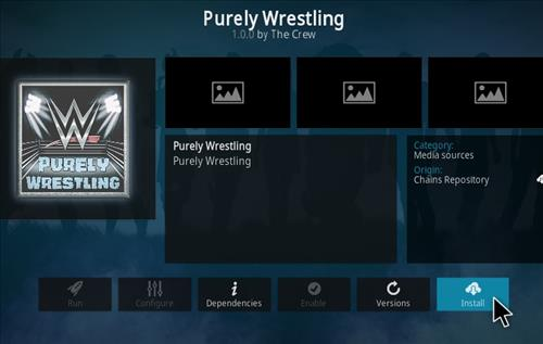 How To Install Purely Wrestling Kodi Addon Step 18