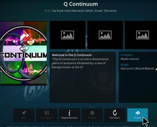 Cómo instalar Q-Continuum All-In-One Kodi Addon Paso 18