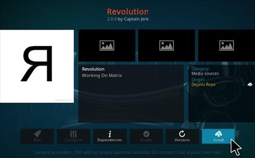 How To Install Revolution Kodi Addon 19 Matrix Compatible Step 18