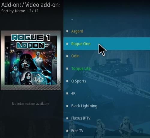 How To Install Rogue One Kodi Addon Step 18