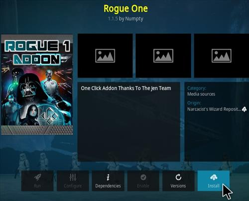 How To Install Rogue One Kodi Addon Step 19