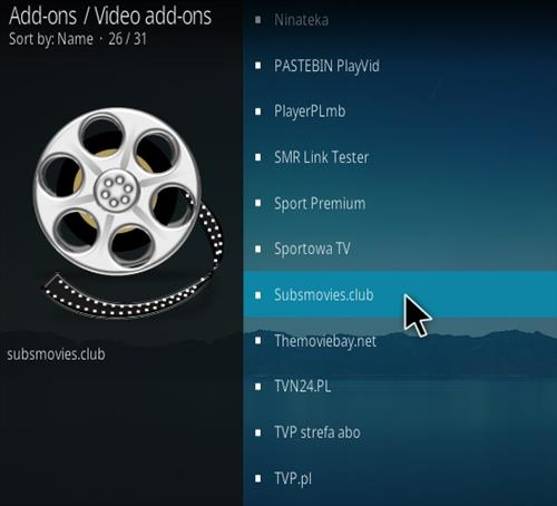 How To Install Subs Movies.Club Kodi Addon update V7 Step 17