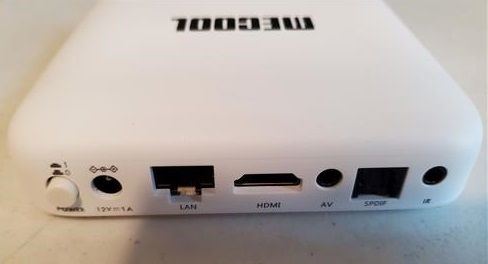 Review MECOOL KM2 Android 10 TV Box 2GB RAM S905X2 CPU Back