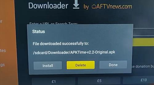 How To Install APK-Time on Fire TV Stick or Android TV Box Step 17