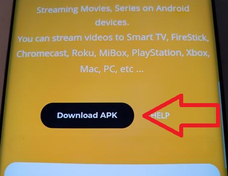 How To Install CuCoTV APK for Android Devices and Fire TV Stick Step 2