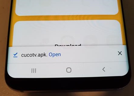 How To Install CuCoTV APK for Android Devices and Fire TV Stick Step 4