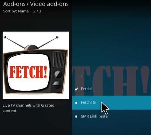 How To Install Fetch! G Kodi Add-on Step 17