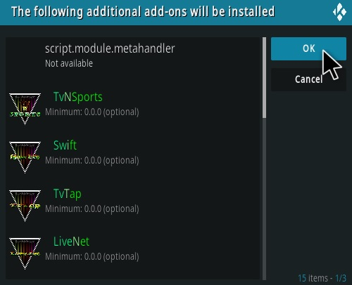 How To Install LooNatics Empire Kodi Addon Step 19