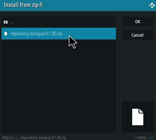 How To Install TV One Kodi Addon Ver 185 Step 13
