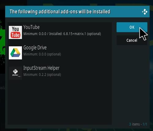How To Install The End-Zone Kodi Addon Step 19
