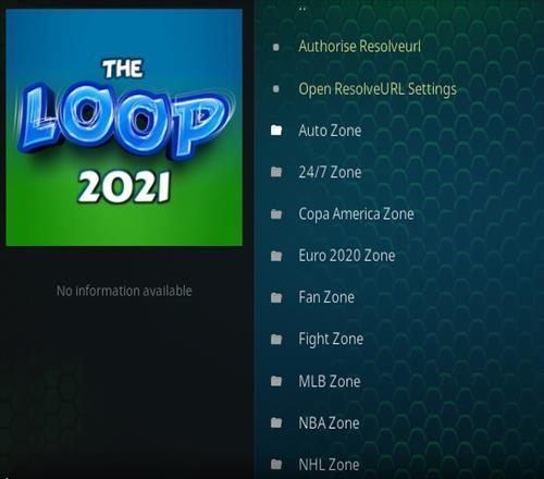 How To Install The Loop 2021 Kodi Sports Addon
