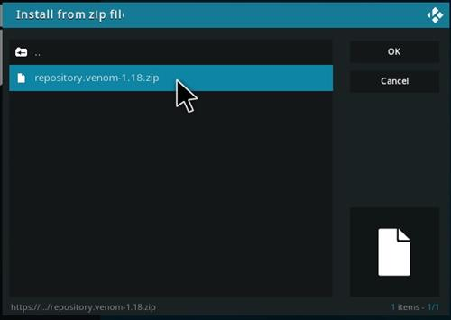 How To Install Venom Kodi Video Real Debrid Addon Ver 118 Step 12