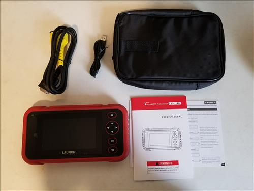 Review LAUNCH Creader123i OBD2 Code Reader-Scanner with ABS and SRS Overview