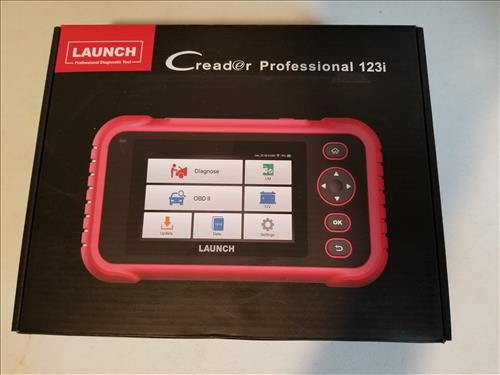 Review LAUNCH Creader123i OBD2 Code Reader-Scanner with ABS and SRS