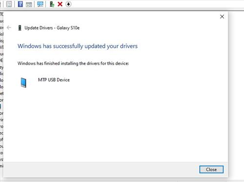Android Files Not Showing Up on PC Update MTP Drivers 7