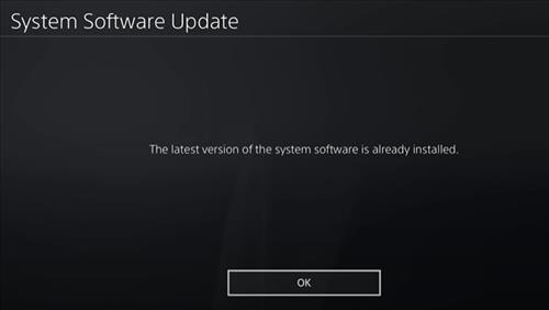 Fix PlayStation Network Sign in failed on the PS4 Check Updates 2
