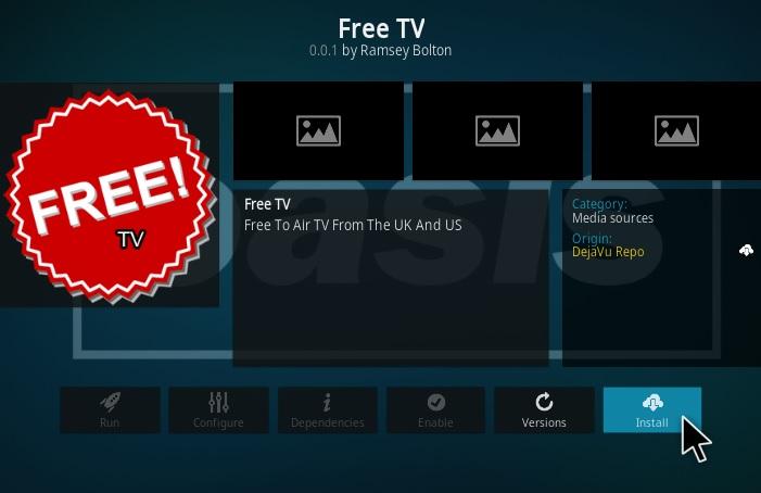 How To Install FREE TV Kodi Add-on Update Step 19