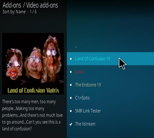 How To Install Land Of Confusion Kodi Add-on Step 18