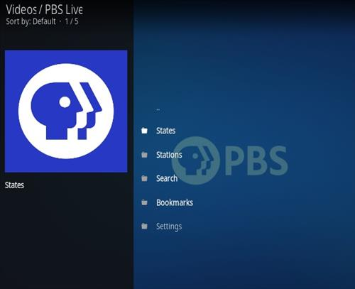 How To Install PBS Live Kodi Addon Ver104 Overview